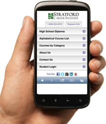 Stratford Career Institute New Mobile Website